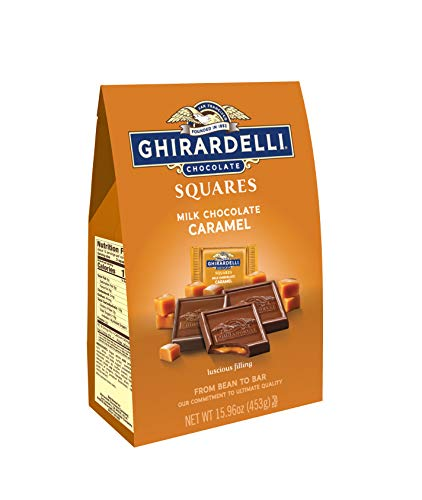 Ghirardelli Chocolate Squares - Ghirardelli Milk and Caramel Squares XL Bag, 15.96 Ounce