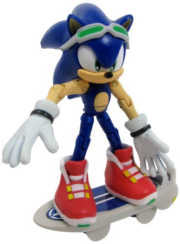 Sonic Free Riders Sonic The Hedgehog Action Figure (Sonic Free Riders Sonic)