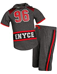 Boys 2 Piece Athletic Themed French Terry Short Set