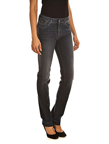 Vintage Teddy Peam Indigo Smith Taille STR Straight Jean Haute Fit Dark z7zEwqx4r