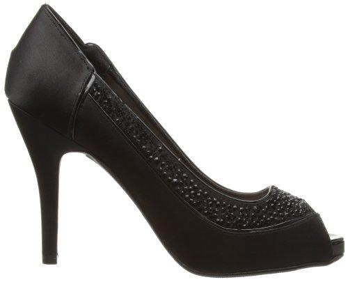 Lunar Peep Women's Toe FLR211 Black 4B4qr