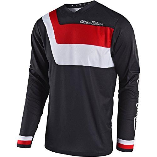 Troy Lee Designs 2018 GP Prisma Jersey-Black-S by Troy Lee Designs