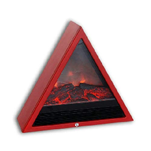 Cheap Fireplace Electric Core American Electric Embedded European Decorative Electronic Simulation Flame Home Heater Heater (Color : Red) Black Friday & Cyber Monday 2019