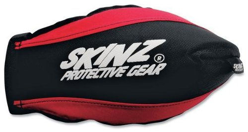 Skinz Protective Gear Pro-Series Handguards - Black/Red HGP100-BK/RD ()