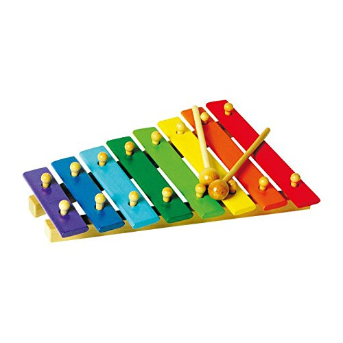 Small Foot Company - 4619 - Jouet Musical - Xylophone En Couleurs - 8 Notes