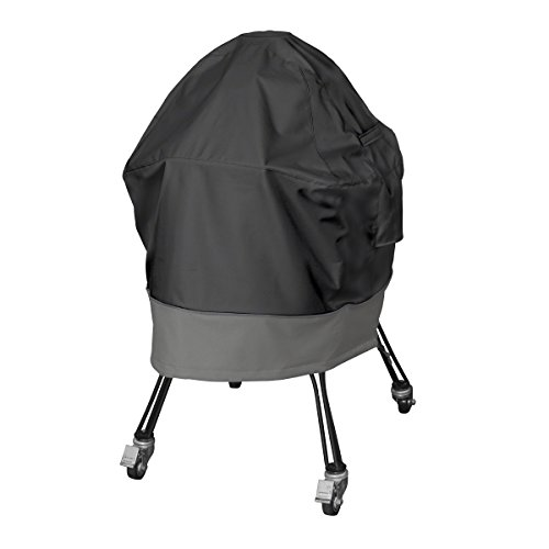 Classic Accessories 55-498-040401-EC Veranda FadeSafe Big Green Egg Cover, Large, Black