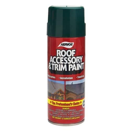 Aervoe 160112 ounceCedar RoofAccessoryand Trim Paint, for Exterior Use