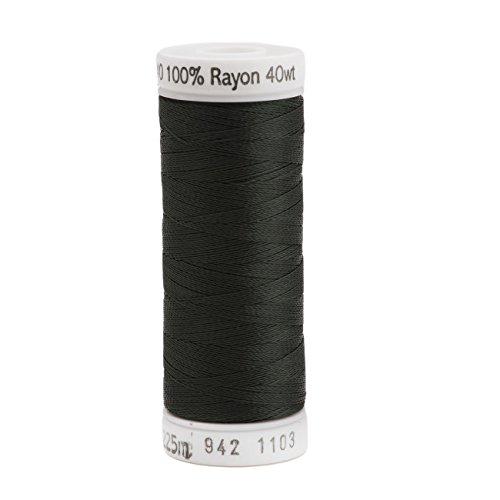 Sulky Rayon Thread for Sewing, 250-Yard, Dark Khaki