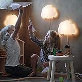 Ikea Upplyst LED Wall lamp Cloud White 404.408.32