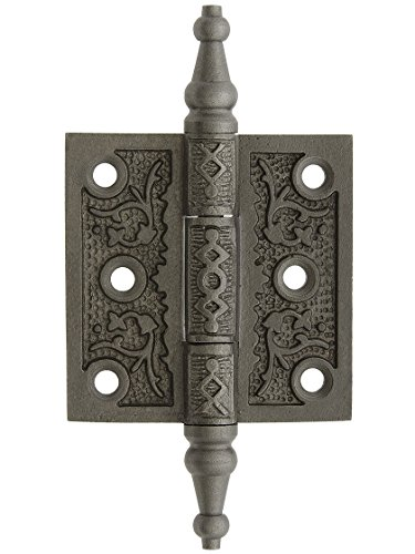 House of Antique Hardware R-04DE-050-AI Cast Iron Steeple Tip 2 1/2