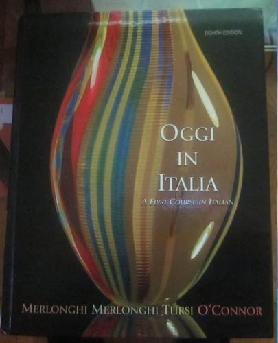 Oggi In Italia With Cd 8th Edition Plus Electronic Student Activity Manual
