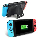 Nintendo Switch Battery Charger Case, 10000mAh Extended Travel Charge Stand Portable Battery Backup Power Bank for Nintendo Switch 2017 by Zover