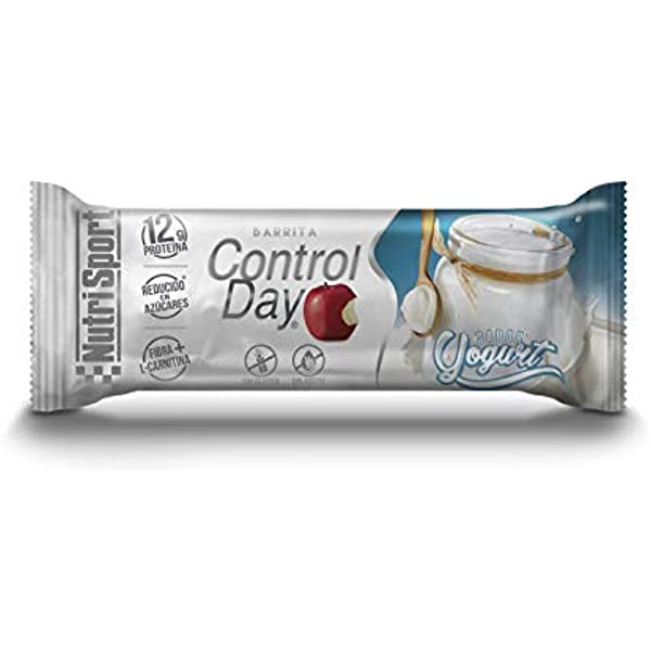 NUTRI-SPORT - CONTROL DAY BARRIT YOGURT N.SP: Amazon.es ...
