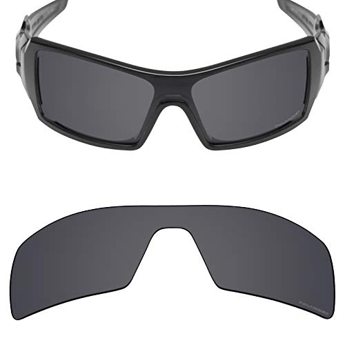 Stealth Polarized Mirror - Mryok+ Polarized Replacement Lenses for Oakley Oil Rig - Stealth Black