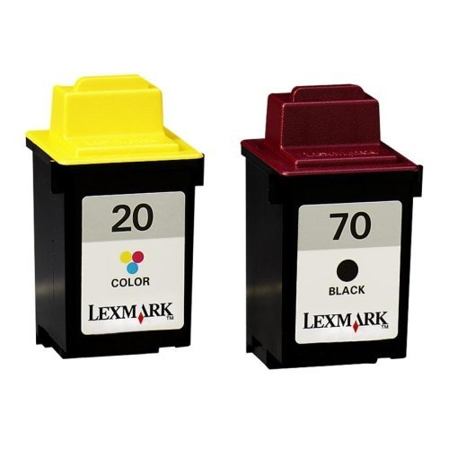 (Lexmark 70 Black and 20 Color print Cartidge (3200/5000/5700/5770/7000/7200/X63/X73/X83/X85/X125/X425))
