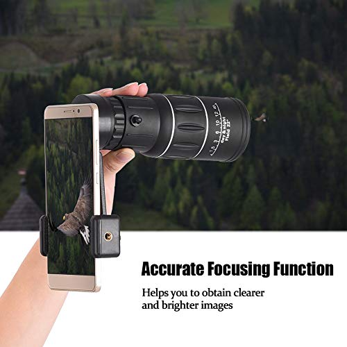 Chicoco Single Eye and Tripod Phone Clip - Waterproof and Anti-Fog - Suitable for Outdoor Activities Such as Bird Watching/Travel/Mountain Climbing, Portable and Durable 50x60 Zoom Optical HD Lens