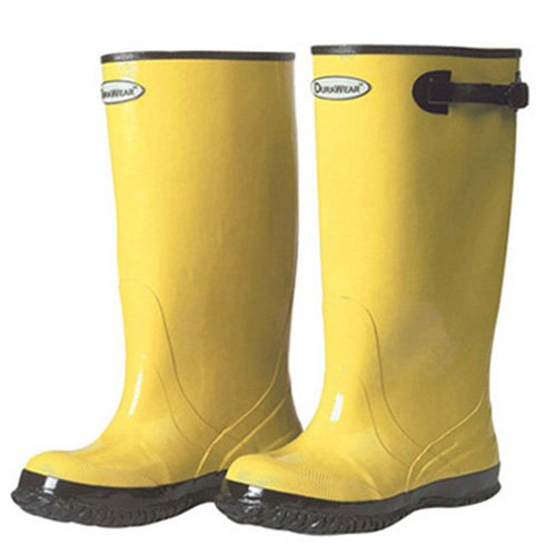 Yellow 17 Height Liberty Glove /& Safety 151016 Size 16 Liberty DuraWear Rubber Fabric Lined Protective Slush Mens Boot with Top Strap and Buckle 17 Height
