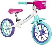 Bicicleta Infantil Balance Bike sem Pedal Cecizinha, Caloi, Nathor, 100930160001