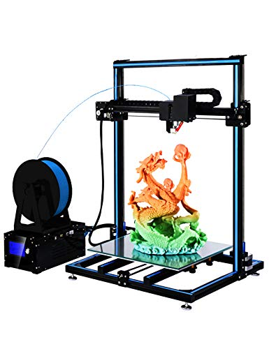 ADIMLab 3D Printer Assembled 24V Prusa I3 3D Printing Size 310X310X410 with Heat Bed, Glass, Control Box, PLA, Auto leveling Upgrade Available by ADIMLab