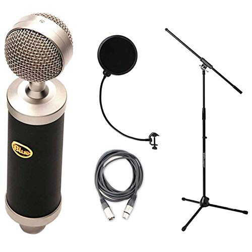 y Bottle with Pop Filter, Shockmount, Mic Stand, and Cable Bundle ()