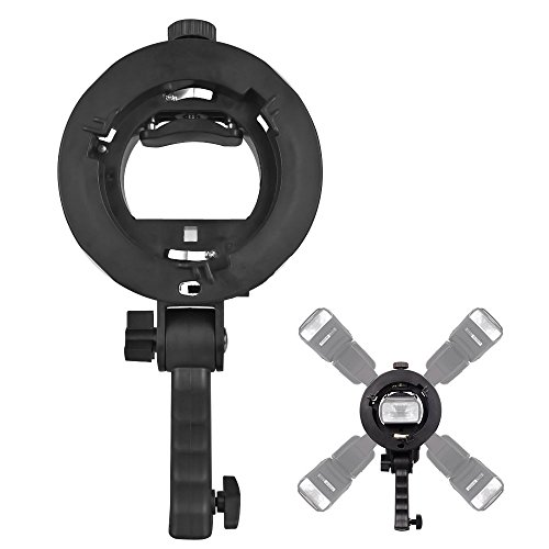 UTEBIT Speedlight Bracket 5 Flashes Multi Flash Grip Holder ...