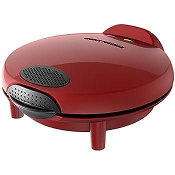 George Foreman Electric Quesadilla Maker, Red, GFQ001