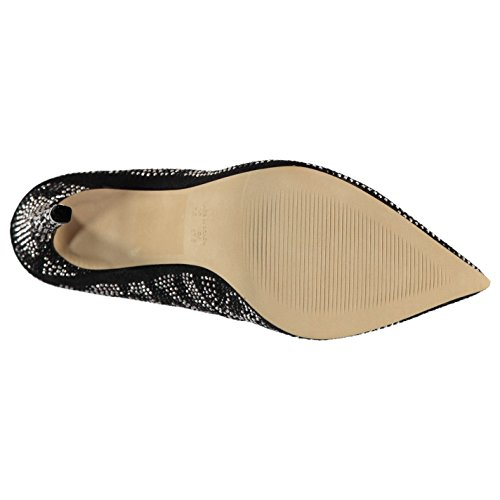 Schuhe Texto Salto Sapatos Steve Piza Damen Multi Madden Moda Stiletto SxRA4x