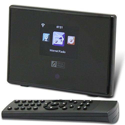 Ocean Digital WR01C Wi-Fi Internet Radio WLAN Wireless Tuner Bluetooth...