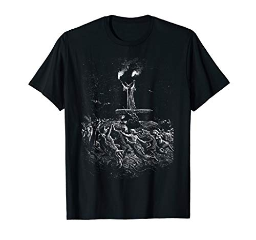 Dore T-shirt - Gustave Dore - Witches Dancing at a Sabbath Shirt