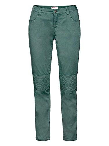 sheego Casual Pantalones elásticos tallas grandes Mujer verde musgo