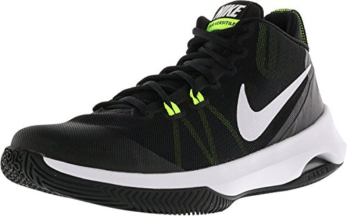 NIKE Black Shoes Versitile Men's Basketball white green Nubuck Air 7qwYApx7
