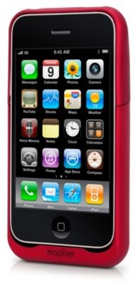 pretty nice a08ab 738f0 Amazon.com: Mophie Juice Pack Air (Red) for iPhone 3G & 3Gs: Electronics