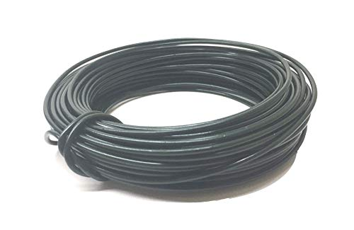 Candy On-line Deal 2.0mm Plant Cages Backyard Twist Tie Bonsai Coaching Wire Twist 50 Toes