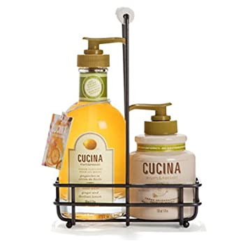 Amazon.com : Cucina Hand Duo - Ginger & Sicilian Lemon : Hand ...