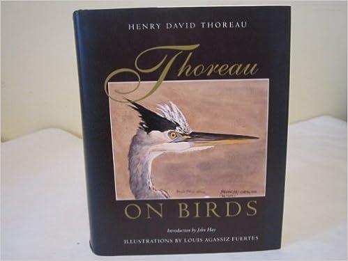 Book Thoreau on Birds