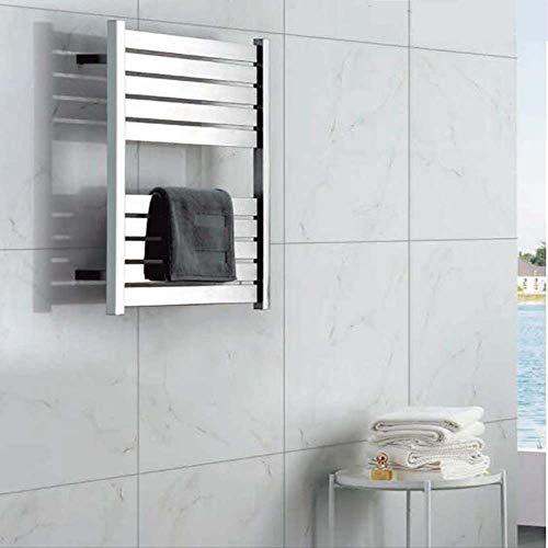 - LY7 Electric Towel Warmer Flat Square Antibacterial Towel Rail Bathroom Stainless Steel Heating Towel Rack