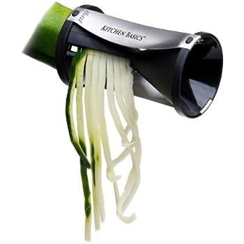Kitchen Basics Spiral Vegetable Slicer Black
