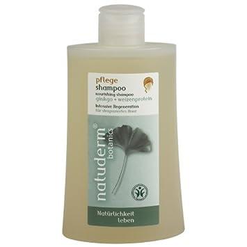 Natuderm Botanics Pflege Shampoo Ginkgo Weizenprotein Shampoo Für