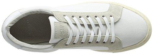 Hackett London Cranfield, Zapatillas de Entrenamiento para Hombre Blanco (White)