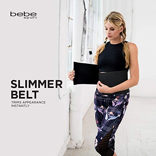 bebe Waist Trimmer, Adjustable Ab Slimmer Belt, Weight Loss, Shed Excess Water Weight and Tone Your Midsection 3