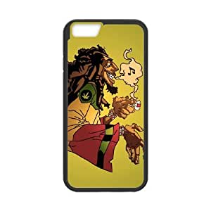 bob marley hq iPhone 6 4.7 Inch Cell Phone Case Blackten-097479