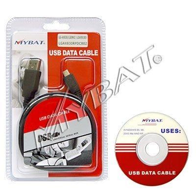 - Authentic Mybat USB Charging Data Cable ONLY for LG AX155, AX500 (Swift), AX585 (Rhythm), AX830, CF360, ENV2 (VX9100), LX400, LX600 (Lotus), UX265, UX280 (Wine), VX5500, VX8360, VX8560 (Chocolate3), VX8610, VX9600 (Versa), VX9700 - Retail Packaging