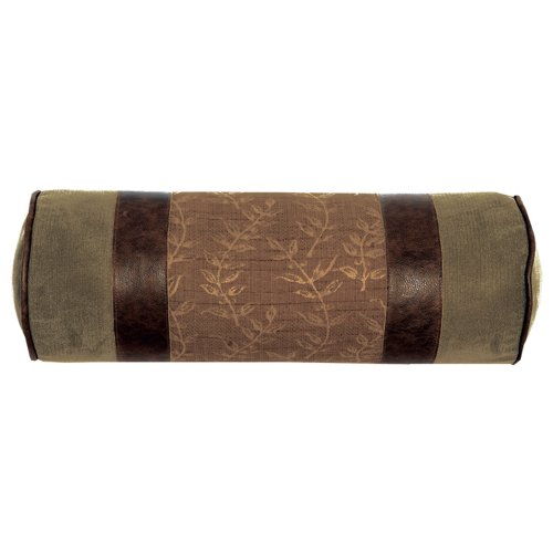 Wooded RiverAutumn Leaf Collection, 9 by 24-Inch, (Collection Neckroll Bed Pillow)