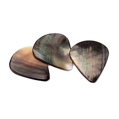 Picks Plectrums Shell Tones Guitar Pick for Ukulele Guitar ()