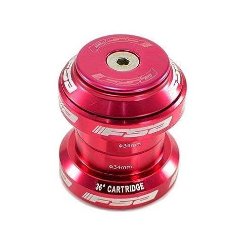 """FSA Orbit MX 1-1//8/"""" 34mm Threadless Bike Headset 34mm w// Top Cap 8 Colors"""