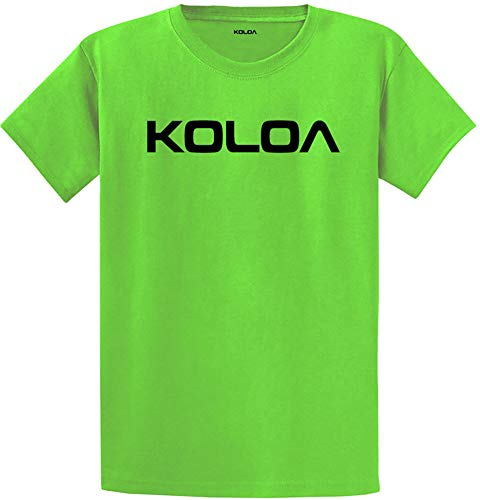 (Koloa Original Logo Soft Cotton Lightweight Short Sleeve)