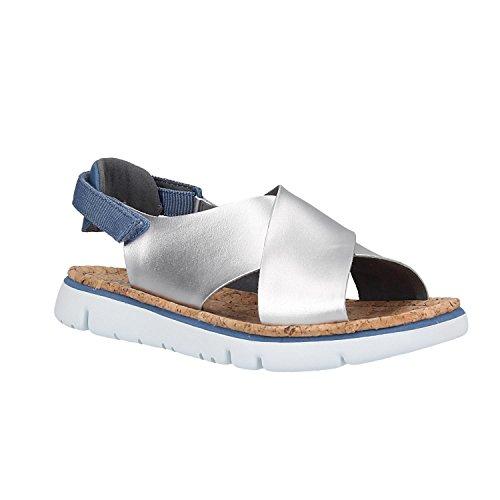 Camper Women's Oruga - K200157 Silver Sandal