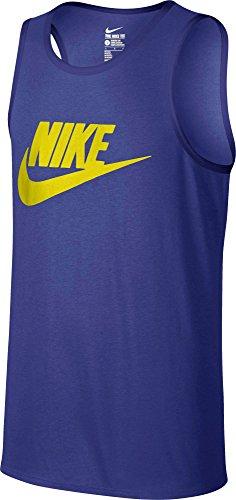Nike Mens Ace Logo Linne Djup Natt / Svart