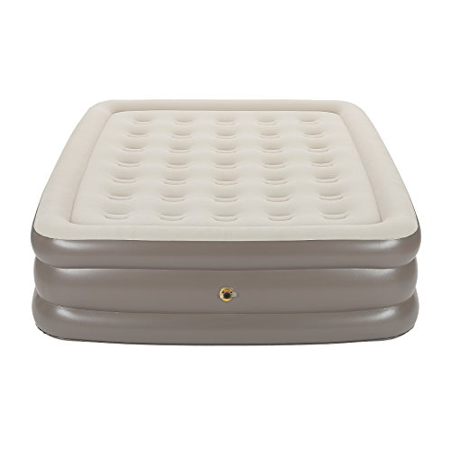 queen inflatable mattress coleman - 8