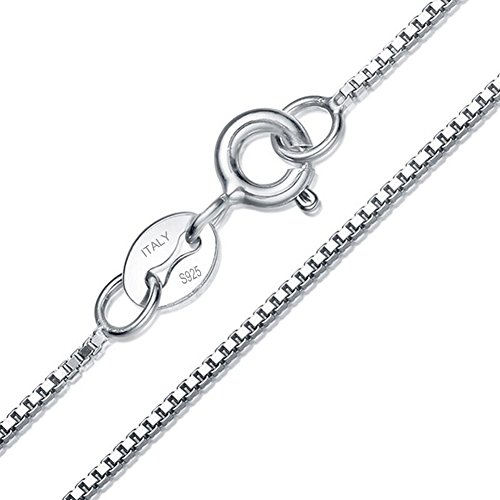 Sterling Silver 1mm Singapore Chain - 2